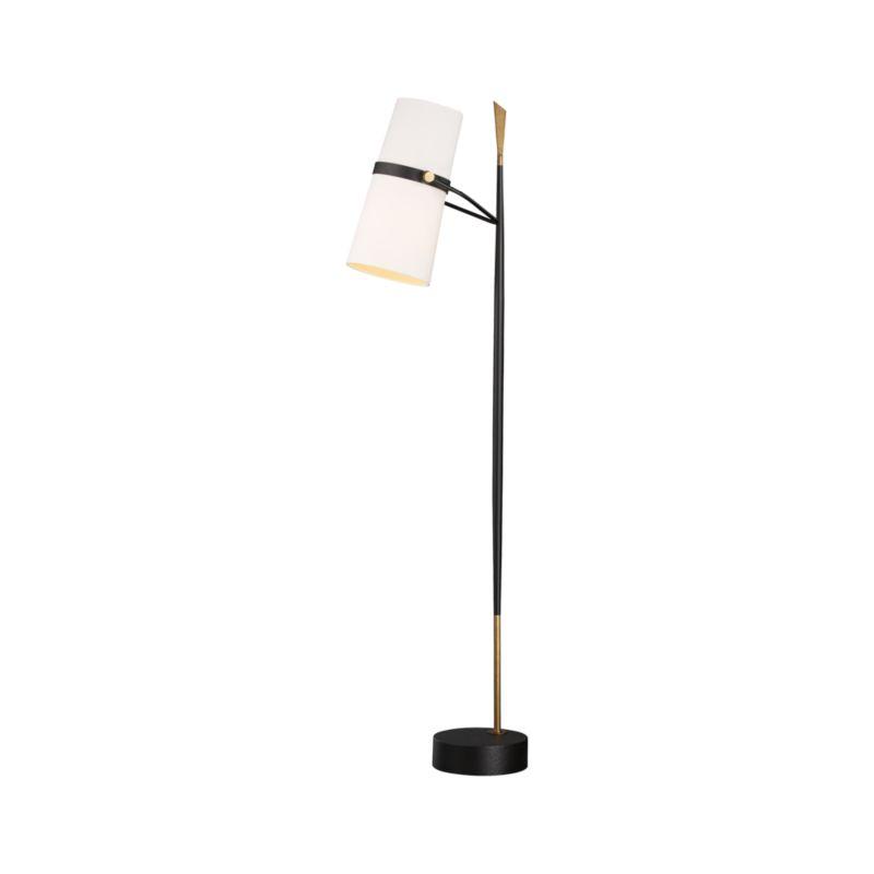 Riston Floor Lamp   Crate and Barrel on Riston Floor Lamp  id=36969