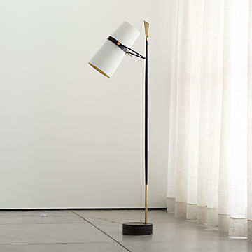Crate And Barrel Tribeca Floor Lamp | Floor Roma on Riston Floor Lamp  id=37654