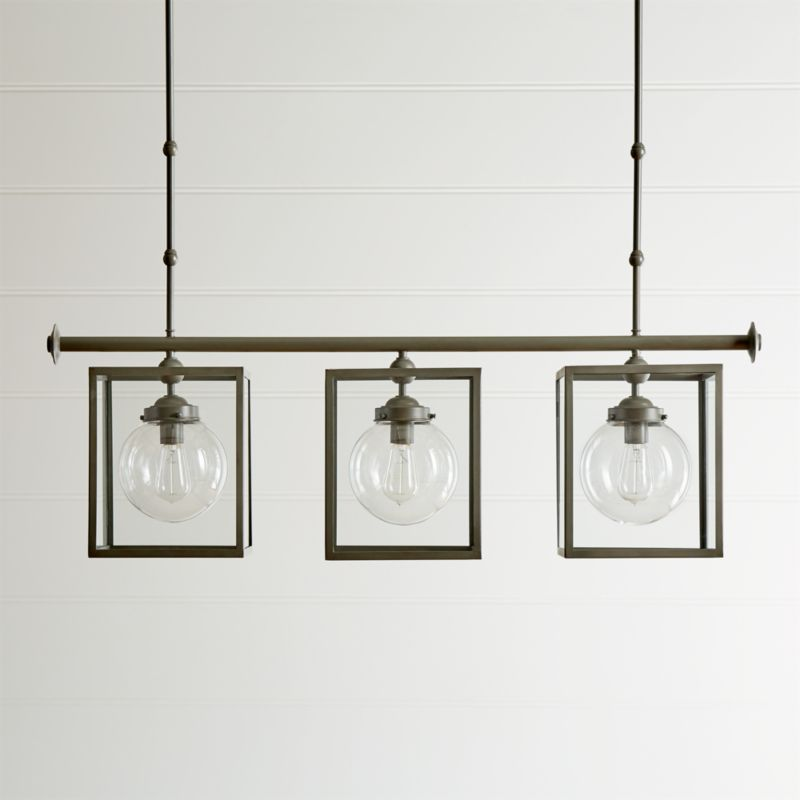 Simone Three Light Pendant Reviews Crate And Barrel