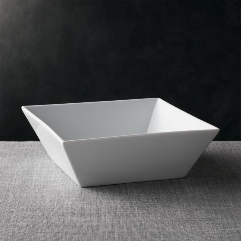 Square 115 Serving Bowl Reviews Crate And Barrel