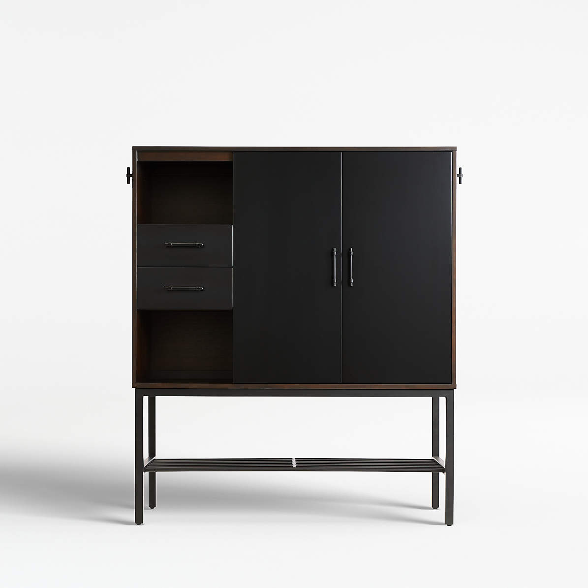 Tatum Entryway Shoe Storage Cabinet Reviews Crate And Barrel