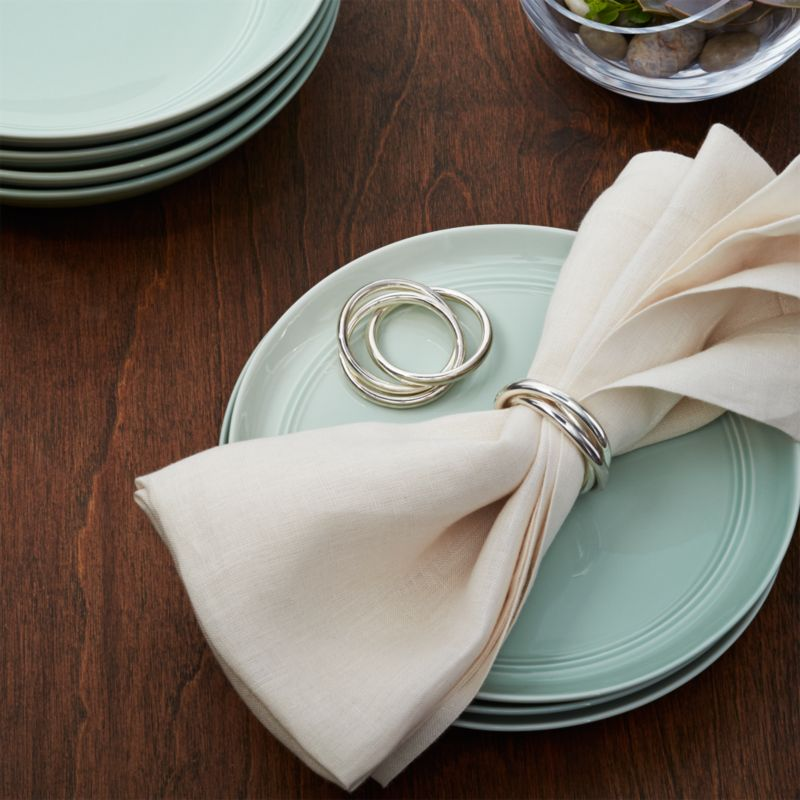 3 Ring Napkin Ring Reviews Crate And Barrel