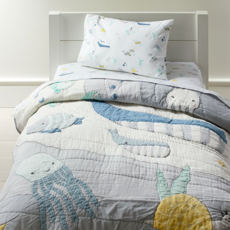 Under The Sea Toddler Bedding Crate And Barrel