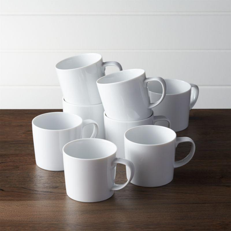 Set Of 8 Verge Mugs Reviews Crate And Barrel