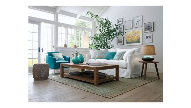 Crate And Barrel Lounge Slipcovered Sofa Reviews