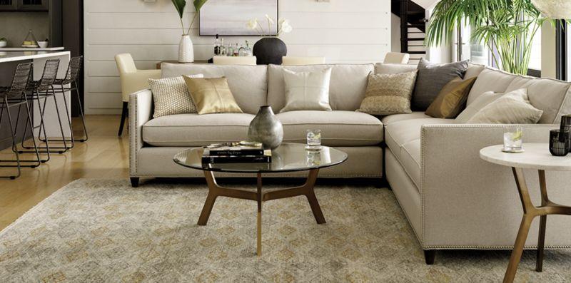 Elegant Living Room: Dryden