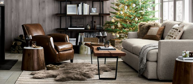 christmas decorations for home and tree crate and barrel on crate and barrel id=84289