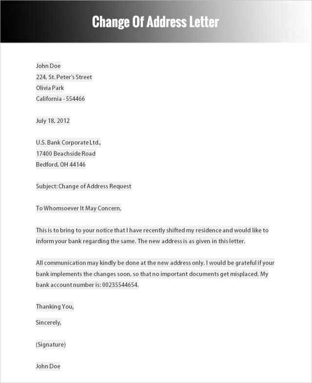 26+ Formal Letter Templates Free Word, PDF Formats