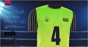 Download 16+ Football Jersey Mockups Templates Free PSD Download