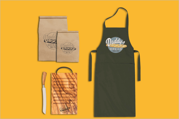 Sample design is not included in the download file. 38 Apron Mockup Templates Free Psd Design Vectors