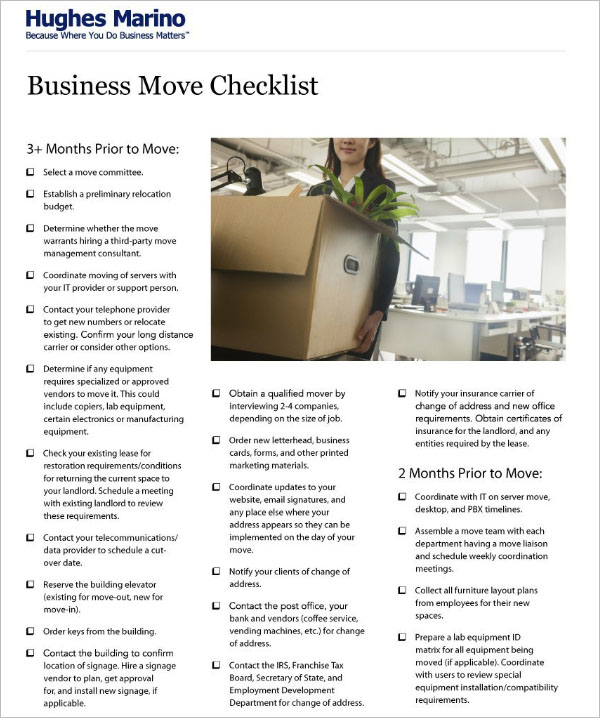 Most support dei, but don't know how to implement it. 46 Moving Checklist Templates Free Pdf Word Excel Formats