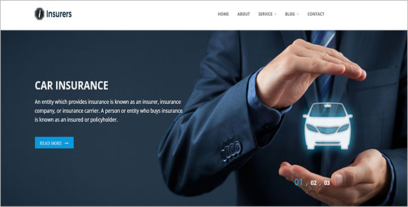 This template was designed for an insurance website, but it could be edited to fit your needs easily. 11 Insurance Landing Page Templates Free Website Themes