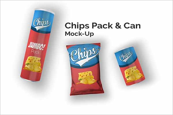 This free psd mockup is easy to edit with smart objects. 46 Chips Bag Mockups Psd Free Mockup Design Templates