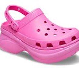 Women's Crocs Classic Bae Clog - Väri: Sähköinen Pinkki