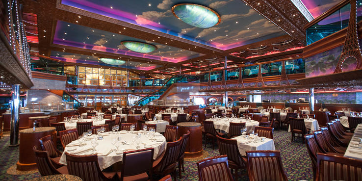Carnival Conquest Dining Restaurants Amp Food On Cruise Critic
