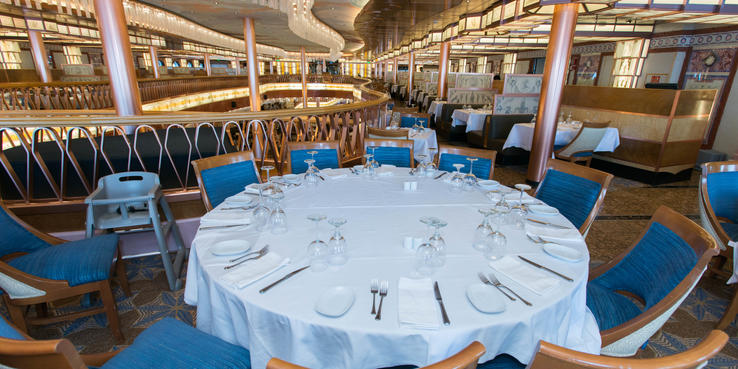Carnival Pride Dining Restaurants Amp Food On Cruise Critic