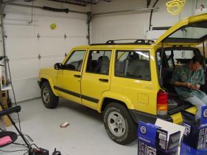19972001 Jeep Cherokee Car Audio Profile