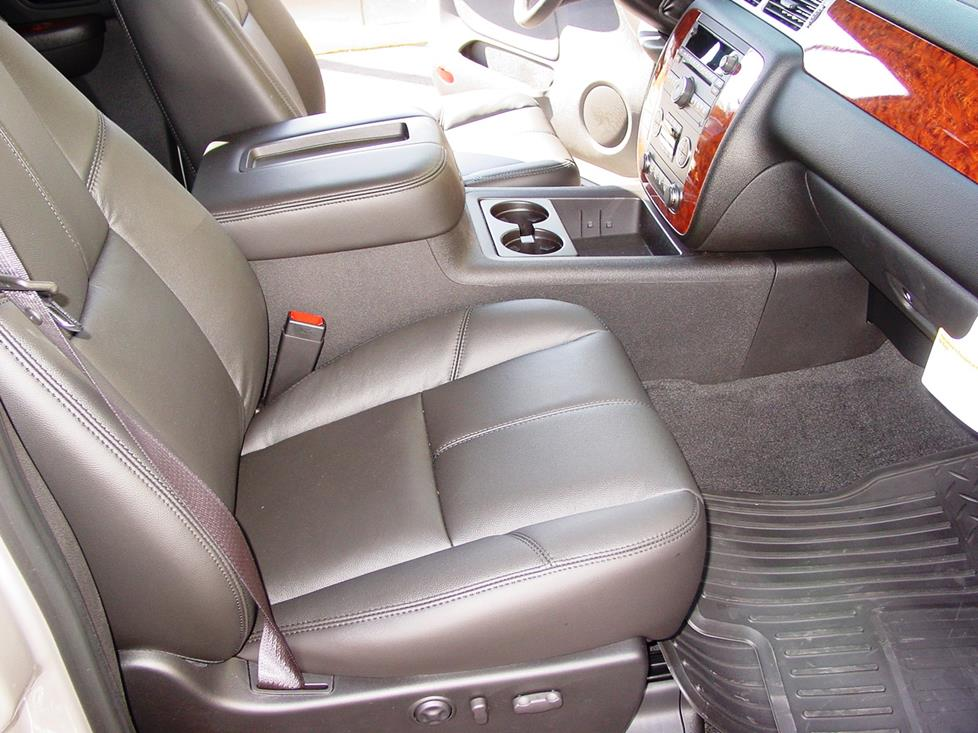 Tahoe Rear Chevrolet Center Console
