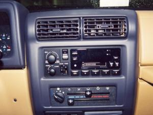 19972002 Jeep Wrangler Car Audio Profile