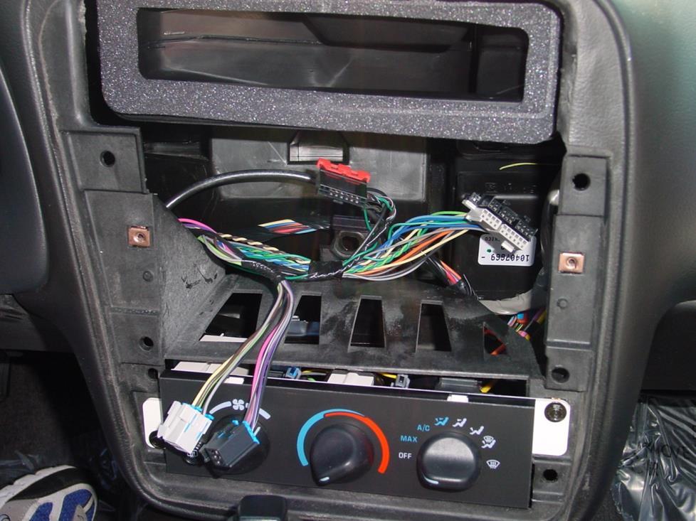 Ford Stock Radio Wiring