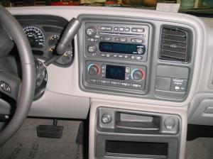 20032007 Chevrolet Silverado 1500 Extended Cab Car Stereo