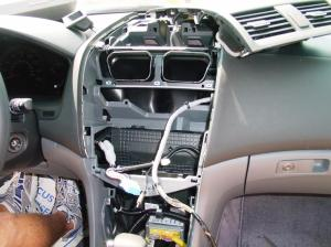 20032007 Honda Accord Sedan Car Audio Profile
