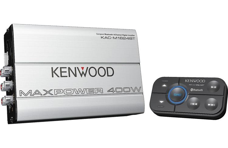 Kenwood KAC-M1824BT Review