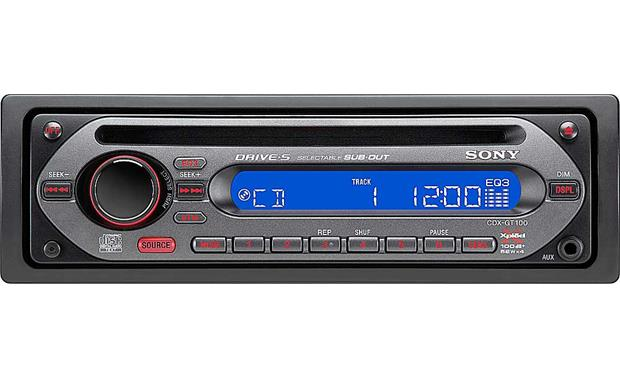 Sony Cdx Gt100 Cd Player At Crutchfield