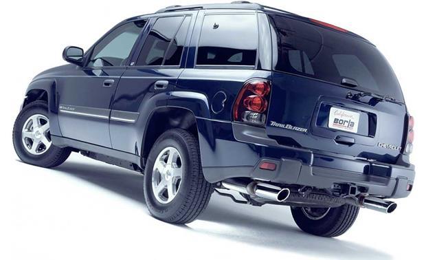 borla exhaust system 140006