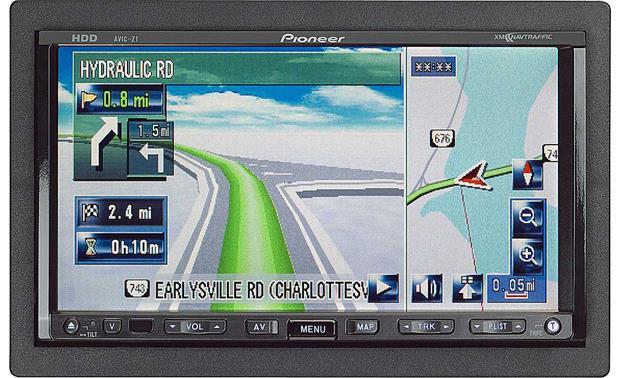Pioneer AVIC-Z1 In-dash DVD Receiver/navigation System
