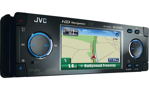 Jvc Kd Nx Dvd Navigation Receiver At Crutchfield