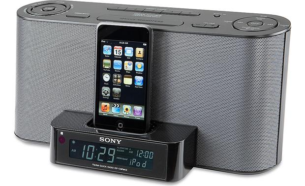 Sony Icf C1ipmk2 Black Clock Radio