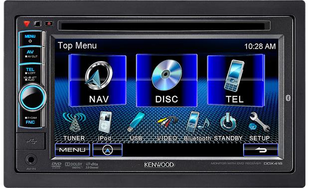 Flat Screen Car Stereo
