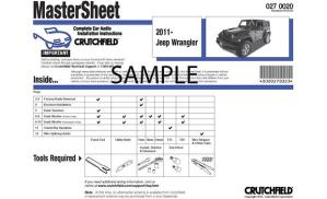 Crutchfield Car Audio Installation Instructions Instructions for removing the radio and speakers