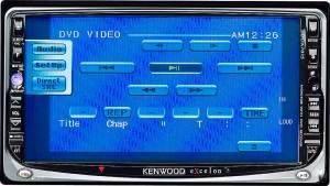 Kenwood Excelon DDX7015 DVD receiver with 65