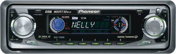 pioneer dehp3600 cd receiver with cd changer controls at