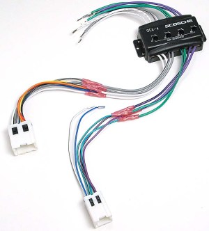 Scosche CNN03 Wiring Interface Allows you to connect a new