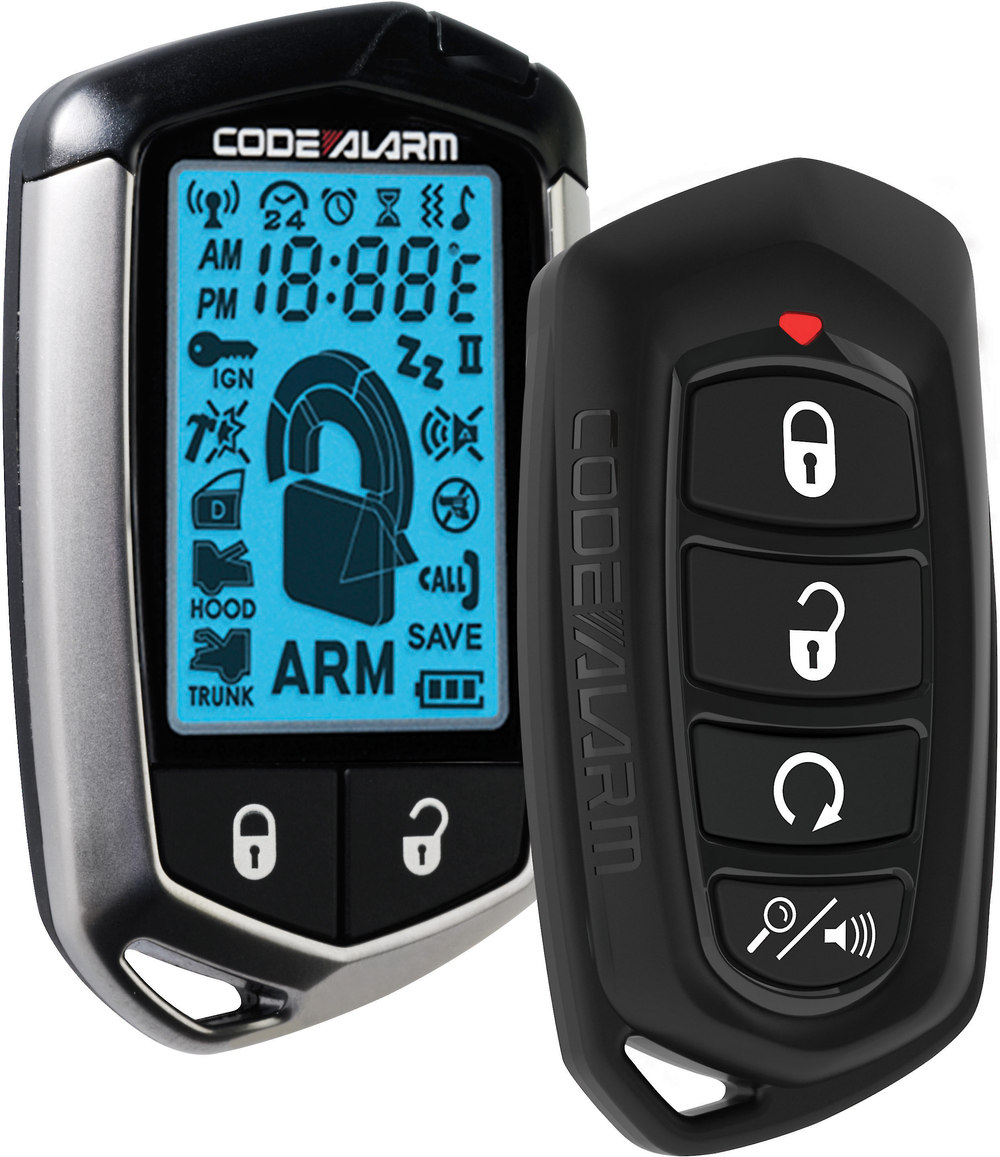 Code Alarm Ca Security And Remote Start System With 2