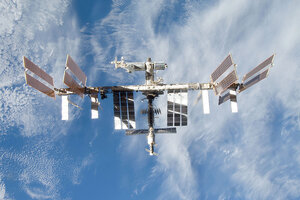 Astronauts scramble for escape pods as space junk threat ...