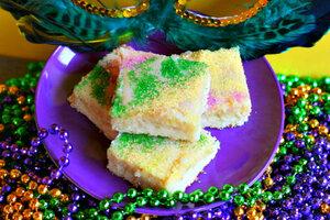 King Cake Bars For Mardi Gras Csmonitor Com