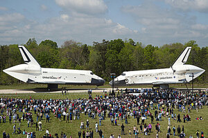 Will visitors be allowed on board the Space Shuttle ...