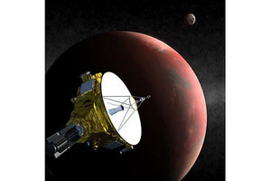 Plutos new moon could cause problems for space probe