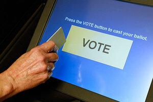 USA Electronic voting machine