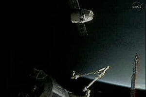 NASA SpaceX docking ranks near top of spaceage firsts