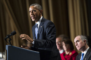At prayer breakfast, Obama condemns those who seek to ...