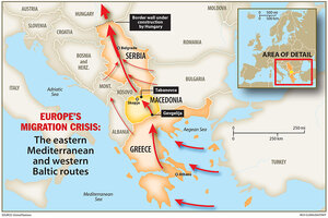 Young Syrian migrant's navigational tool: 'I follow the ...