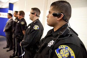 San Jose Police Get Ear Mounted Video Cameras In Battle