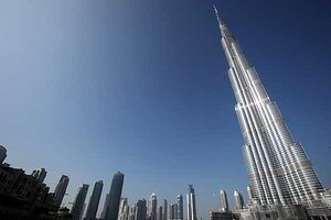World S Tallest Building Opens In Dubai With A New Name Csmonitor Com