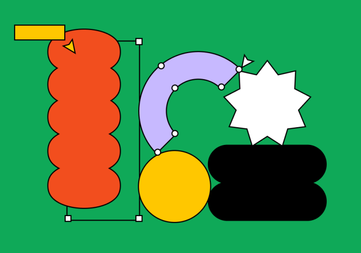 Shapes That Show the Process Figma