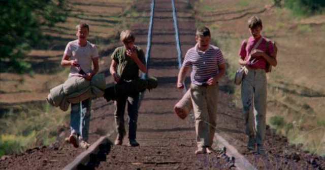Image result for stand by me train tracks